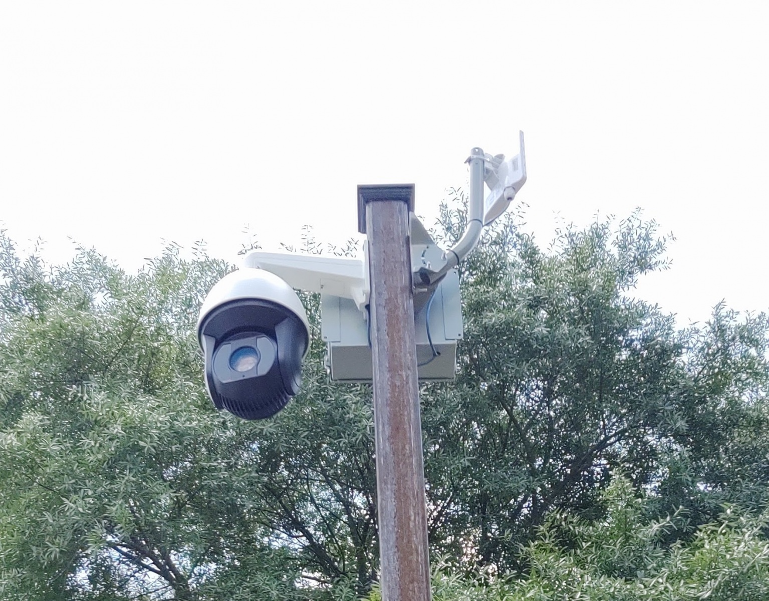 Installing a wireless PTZ camera | Hampton, VA