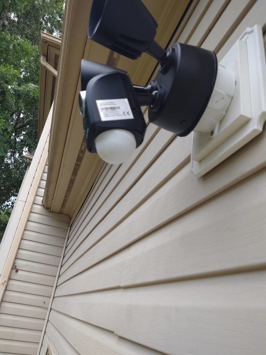 Installing wireless cameras | Hampton, VA