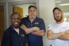 The CCS Team: Solon Sutton, Deano McGalliard, and JC Butler