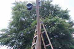 Installing a wireless PTZ camera | Hampton, VA