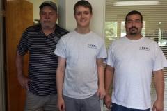The CCS Team: Deano McGalliard, Glen Brinton, and Davin Shave